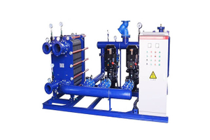 Plate Heat Exchanger Heating Unit