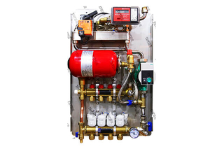 Wall-mounted Building Heat Exchanger Unit