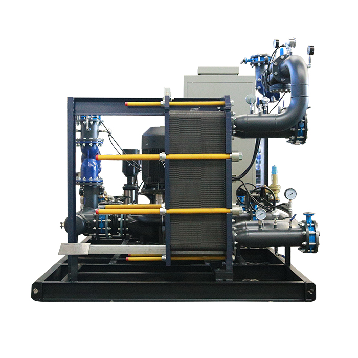 Intelligent Heat Exchanger Unit